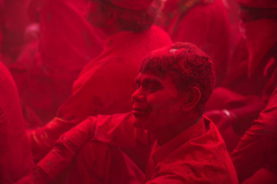 Holi In India - Colorful Photography Series By Aman Chotani