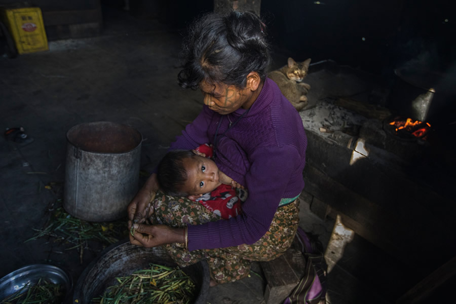The Vanishing Face: Tattooed Women Of Myanmar By Lopamudra Talukdar