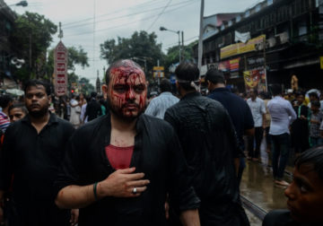 The Muharram Red – Photo Series By Indian Photographer Debarshi Mukherjee