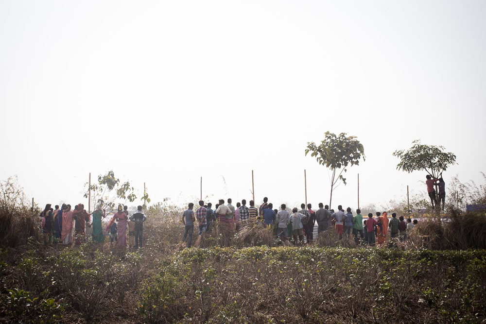 Men Under Bush - Photo Series By Indian Photographer Ashiq MK