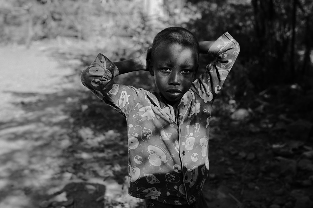 "HONORABLE MENTION-""Tanzanian boy"" by Mariola Glajcar, Poland"
