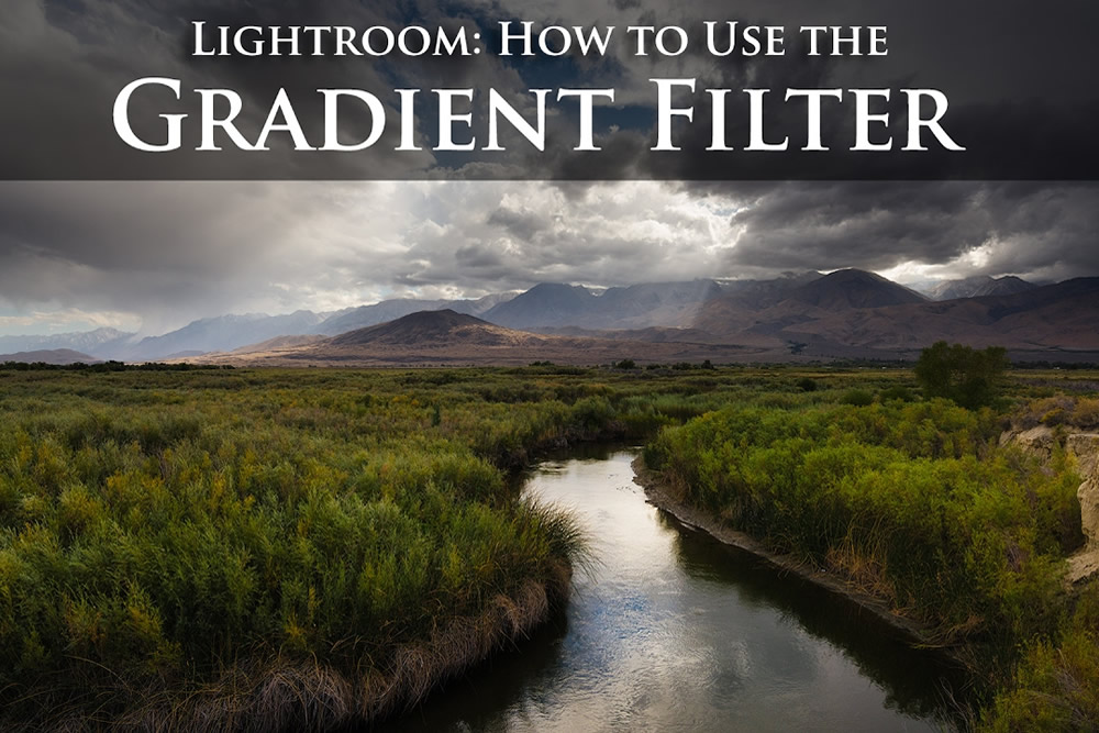 Photography Tutorials For Beginners: How To Use Gradient Filter In Adobe Lightroom