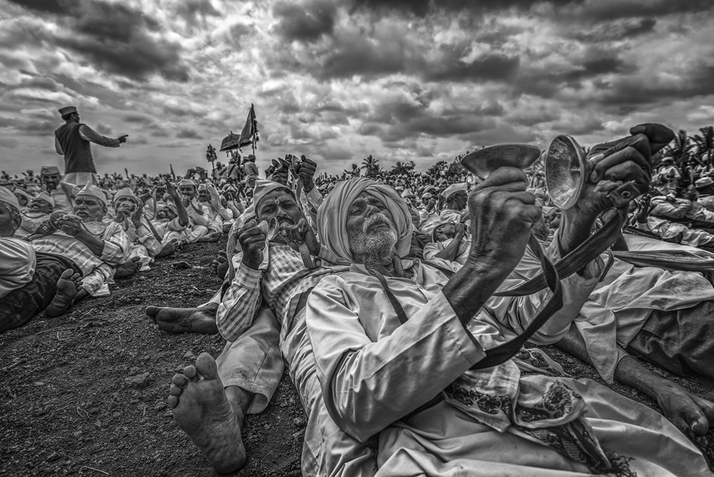 ​Palkhi Festival: Photo Series By Indian Photographer Dnyaneshwar Prakash Vaidya