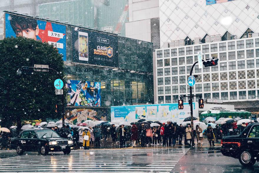#14 Snowy Shibuya, Tokyo