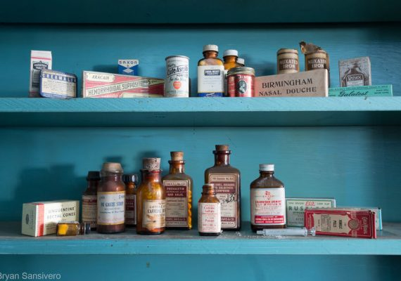Photographer Bryan Sansivero Amazingly Captured This Abandoned Pharmacy In New York