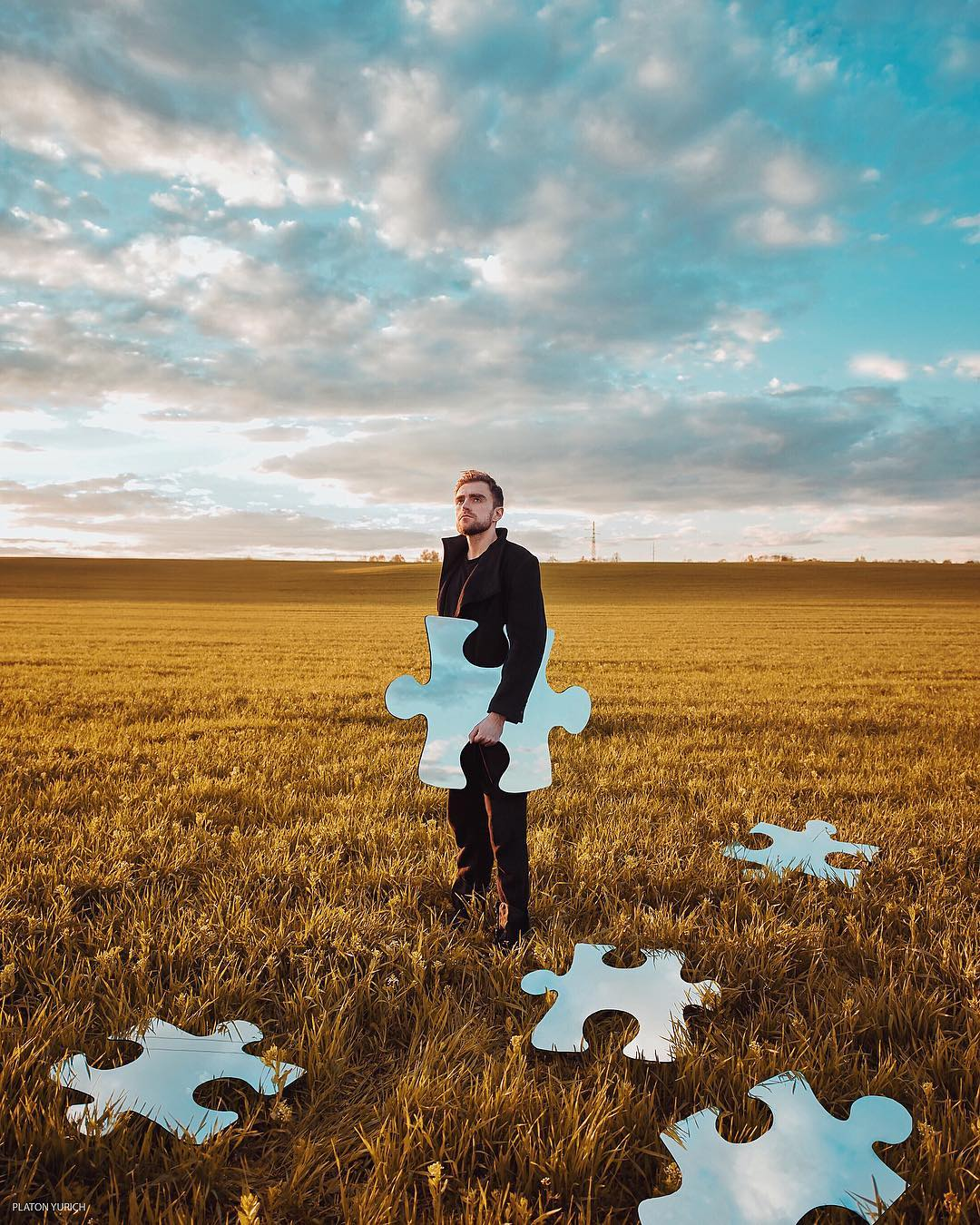 Russian Artist Platon Yurich Creates Surreal Photos Digital Art