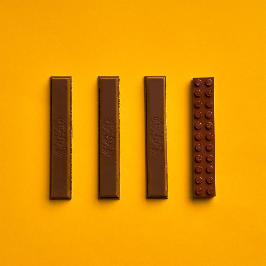 Spanish Artist Jaime Sanchez Completes Everyday Objects With Lego