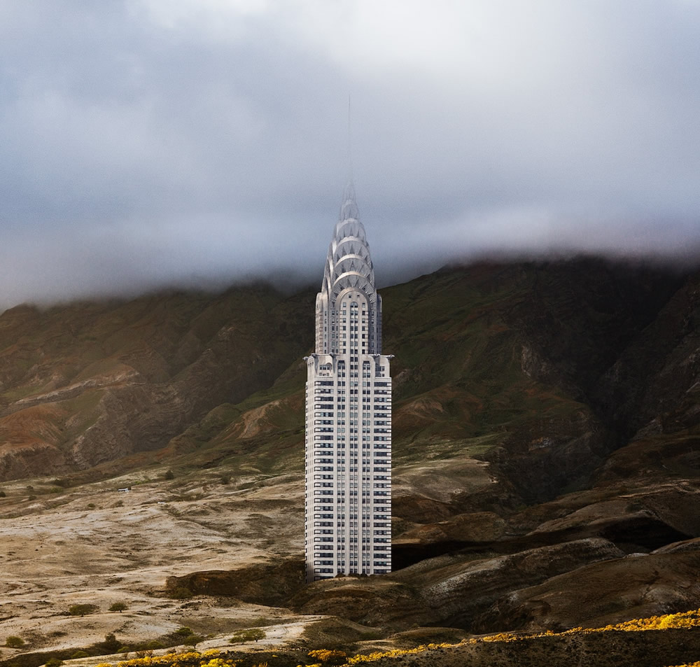 Misplaced: Photographer Anton Repponen Plucked 11 of New York's Famous Landmarks From Their Urban Environment