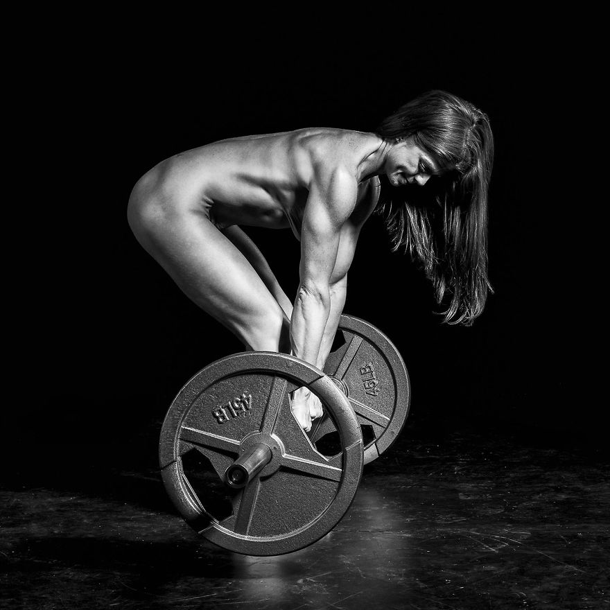 Photographer mark ruddick explore the strength flexibility and power of human body in his