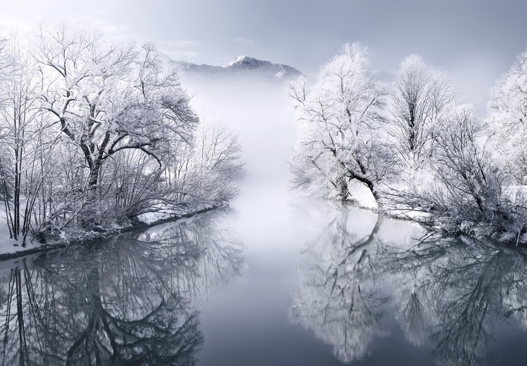 Photographer Kilian Schonberger Beautifully Captured His Landscape Photography Series, Winters Tale