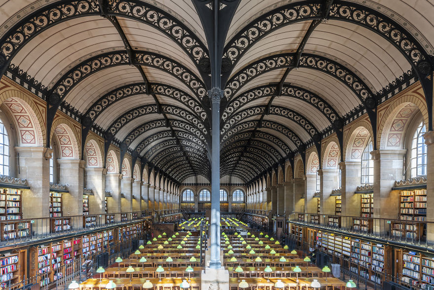 #5 Saint Genevieve Library, Paris, France