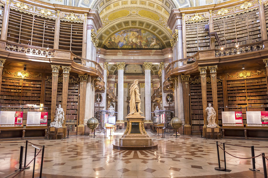 #8 Austrian National Library, Vienna, Austria