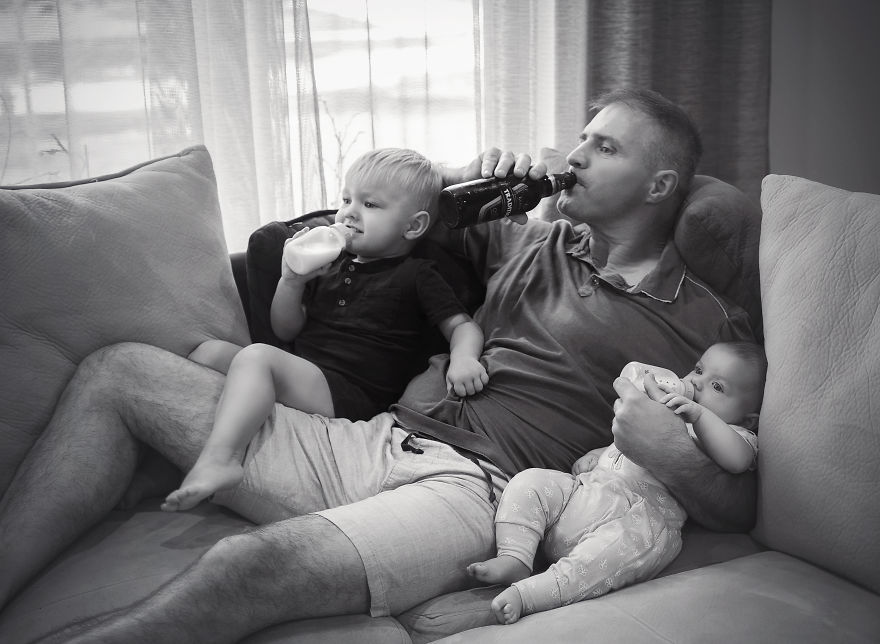 Happy Father's Day: Incredible Photographs Of Dads By Giedre Gomes