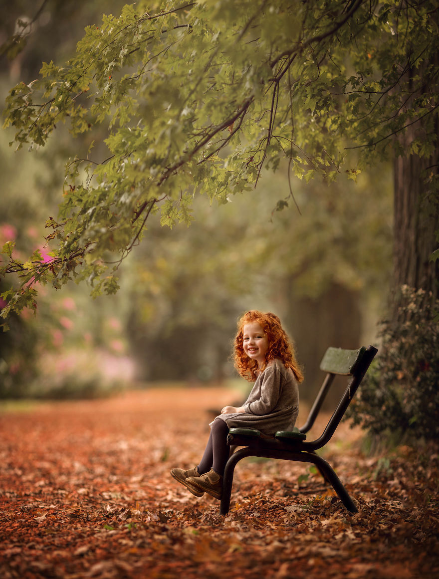 Most Beautiful Photos Of Redhair Girls In Autumn Captured By Maria Presser