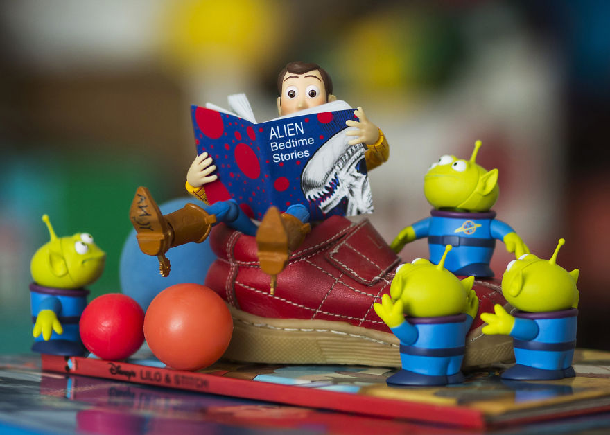 #12 Alien Bedtime Stories (That Little Red Shoe Was My Daughter's Baby Shoe)