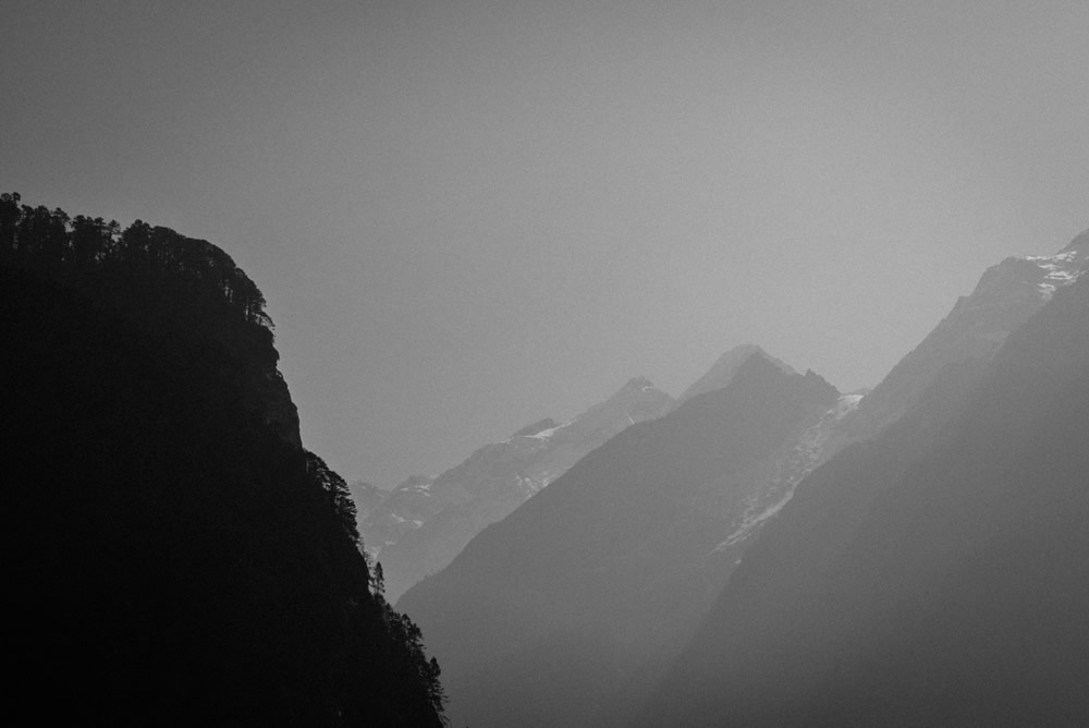 North Sikkim In Black And White: A Poetic Perspective By Sudarshan Mondal