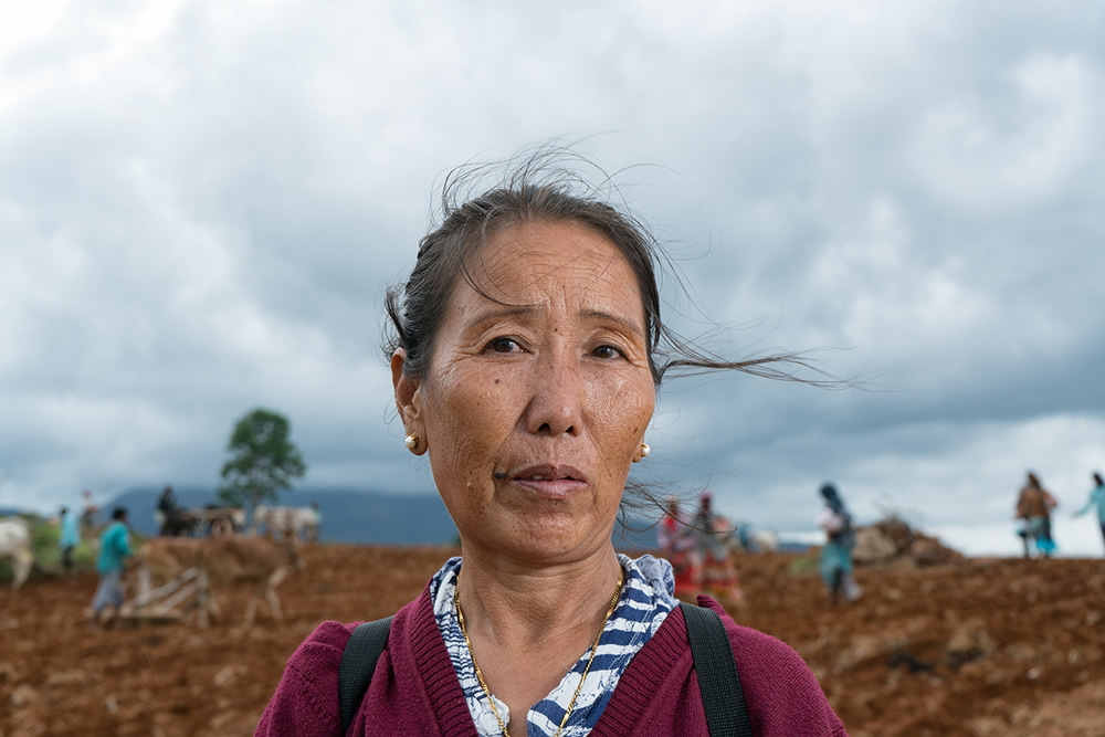 Happy In Exile – Senior Portraits Of Kollegal Tibetan Settlement: Photo Series By Ashwin Pk