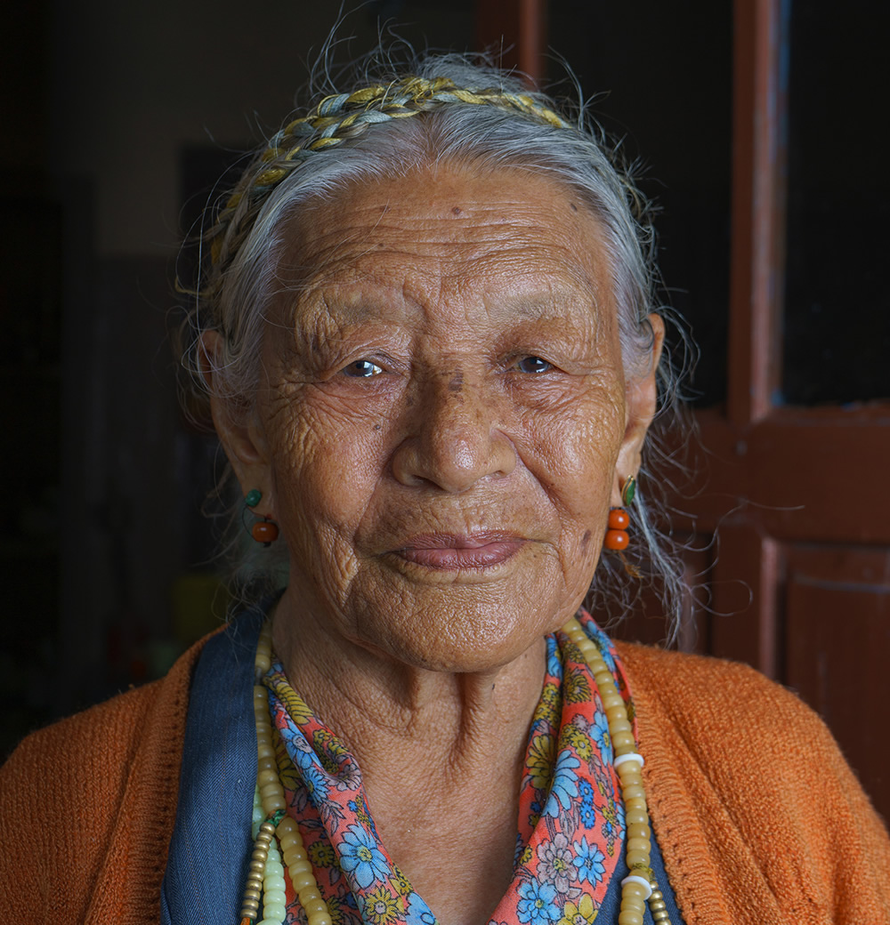 Happy In Exile - Senior Portraits Of Kollegal Tibetan Settlement: Photo Series By Ashwin Pk