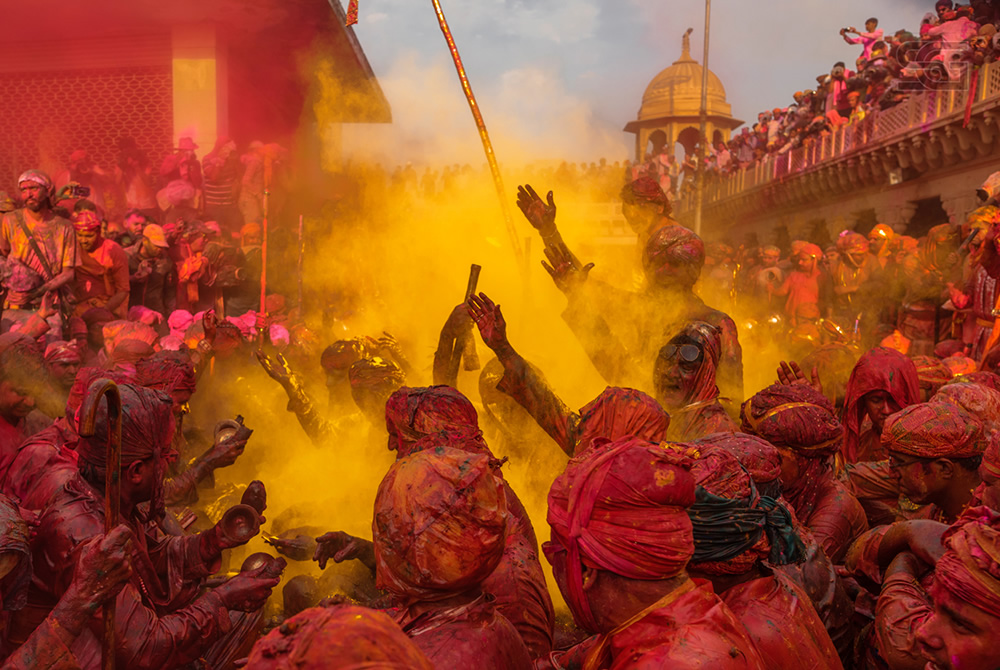 Festival Of Colors - Holi In A Traditional Way By Sourabh Gandhi
