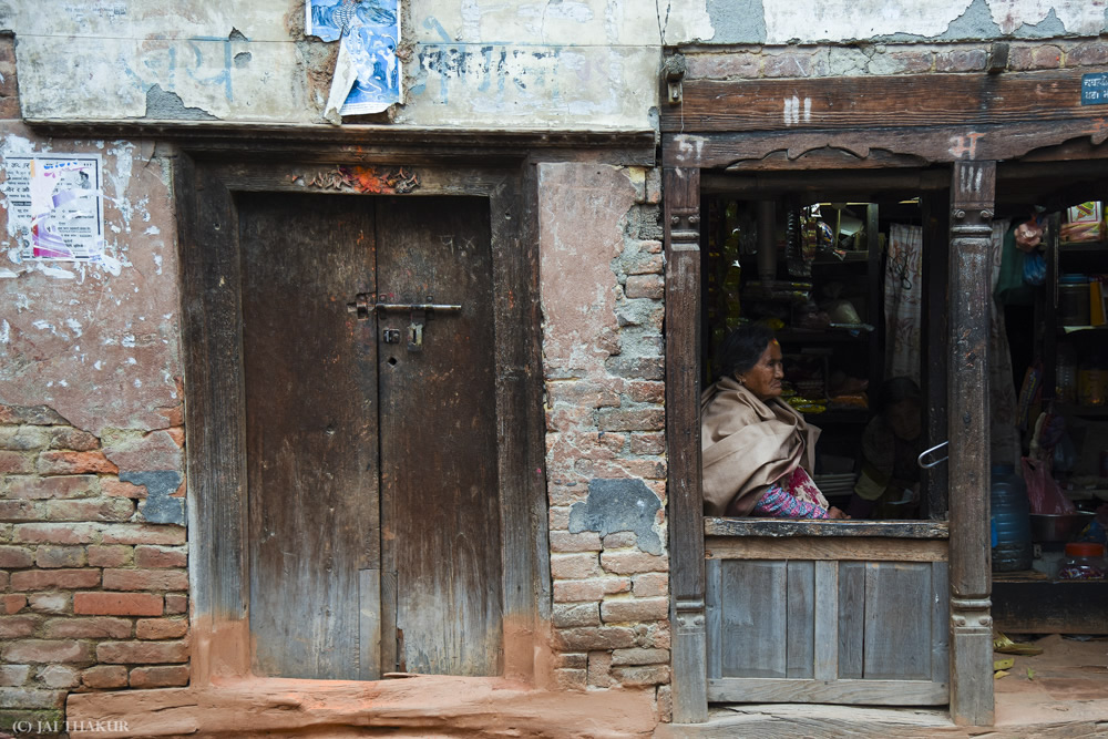 People Of Nepal Through Windows And Doors By Jai Thakur