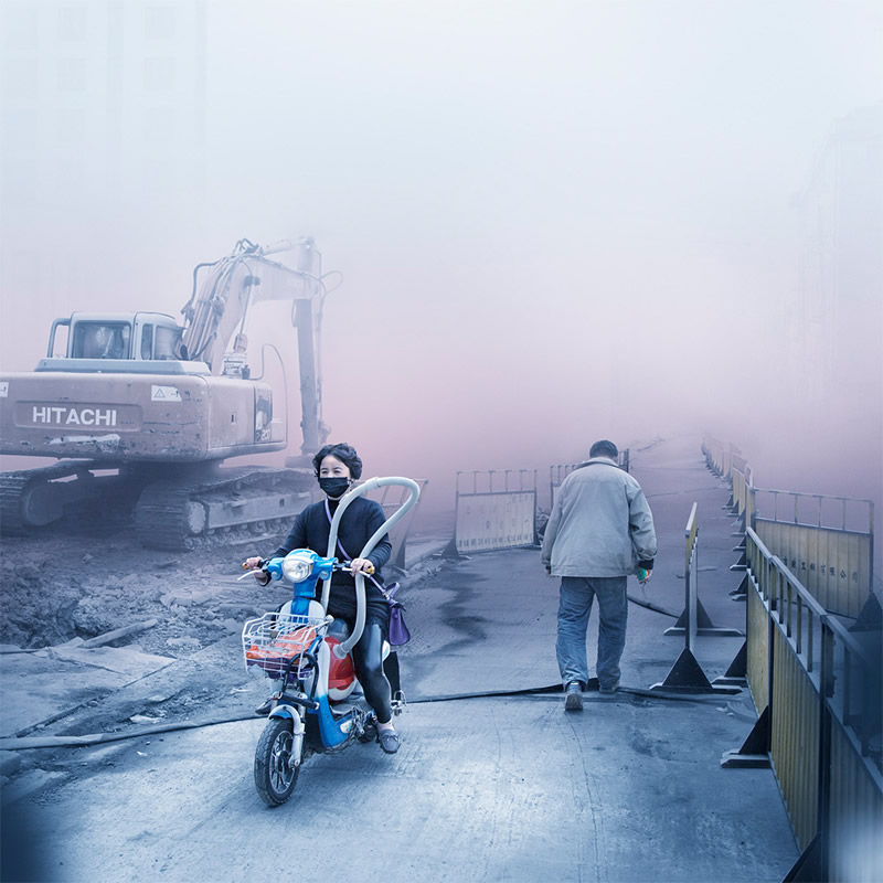 Shanghai Dreams: Creative Photo Series By Alexis Goodwin