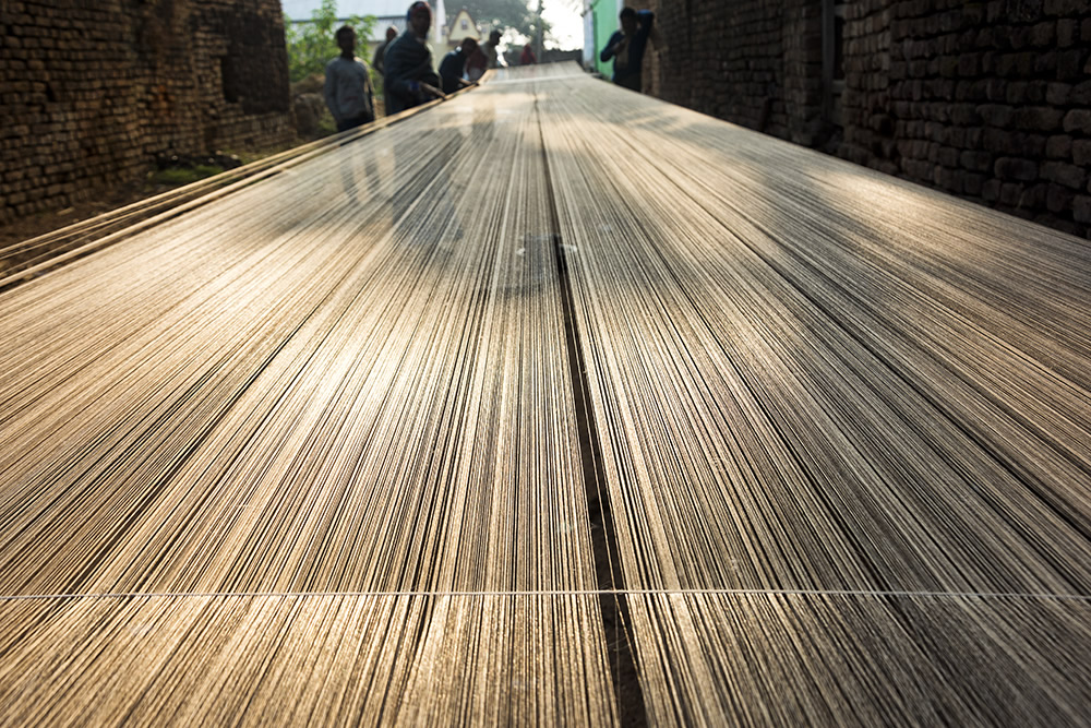 From Raw to Polished: The Journey Of A Tussar Silk Material By Shirshendu Chowdhury
