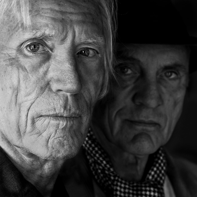 Chris Stamp with brother Terence