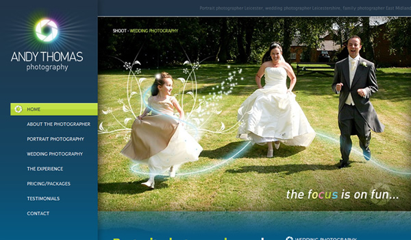 Andy Thomas Photography - The Best Photographer Portfolio Websites for Inspiration