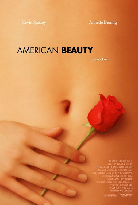 American Beauty - Movie Posters with Romantic Photography