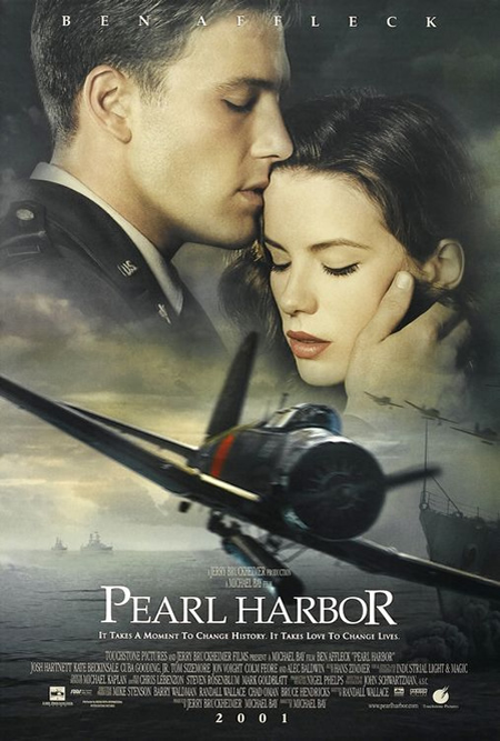 Pearl Harbor - Movie Posters with Romantic Photography