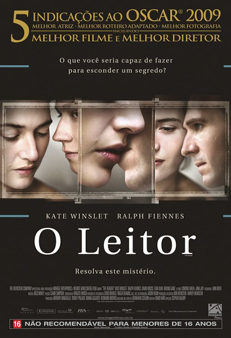 The Reader - Movie Posters with Romantic Photography
