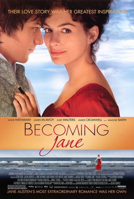 Become Jane - Movie Posters with Romantic Photography