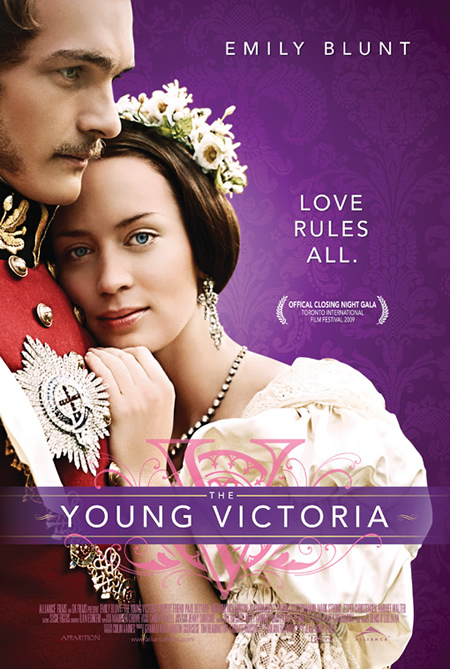 The Young Victoria - Movie Posters with Romantic Photography
