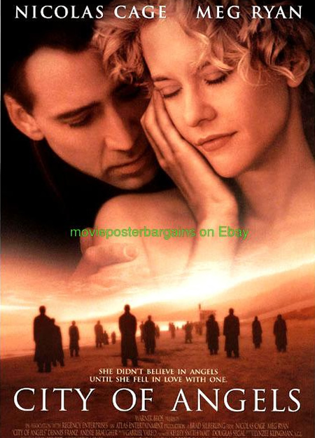 City of Angels - Movie Posters with Romantic Photography