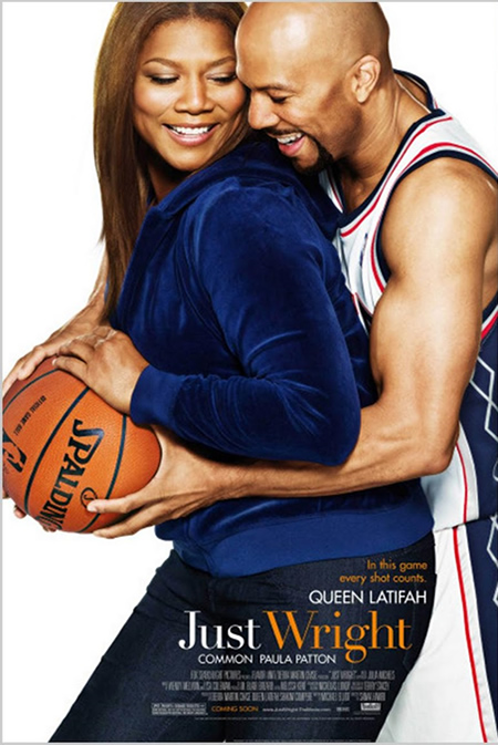 Just Wright - Movie Posters with Romantic Photography