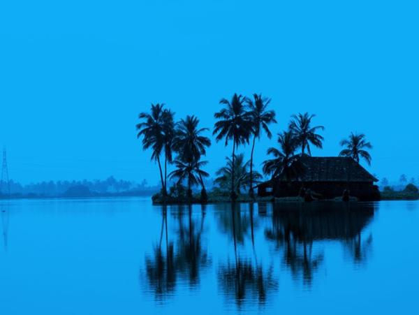 Dream home, Kerala, India