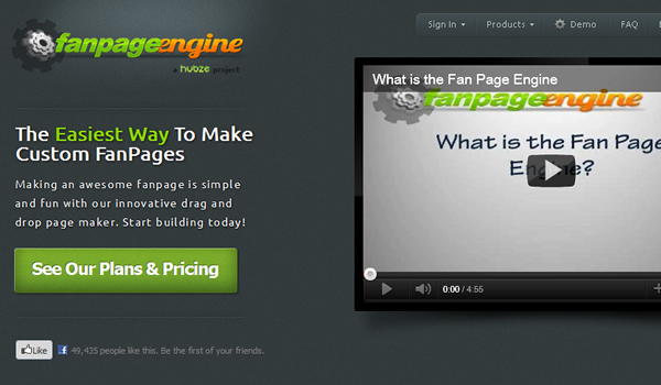 Fanpage Engine