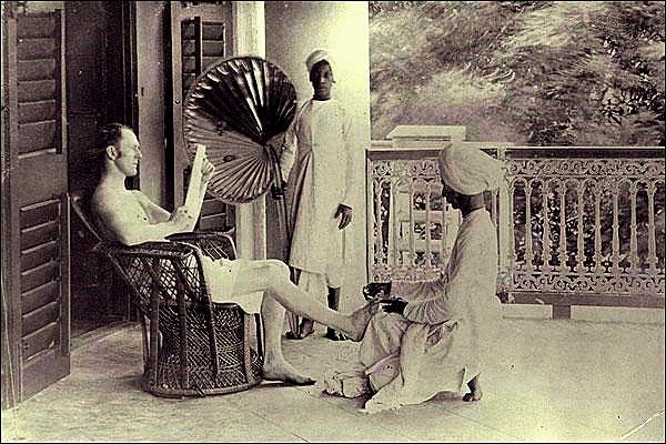 In the times of The British Raj
