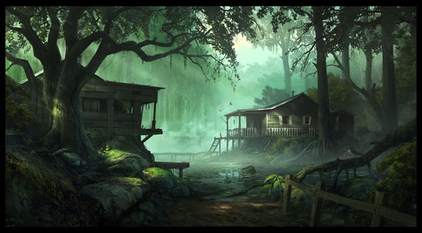 Swamp fever - Digital Paintings