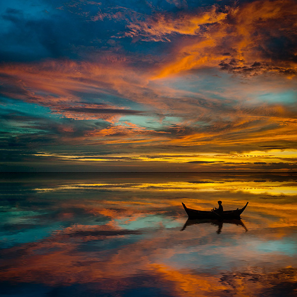 Sunset in Thailand - Photography Composition