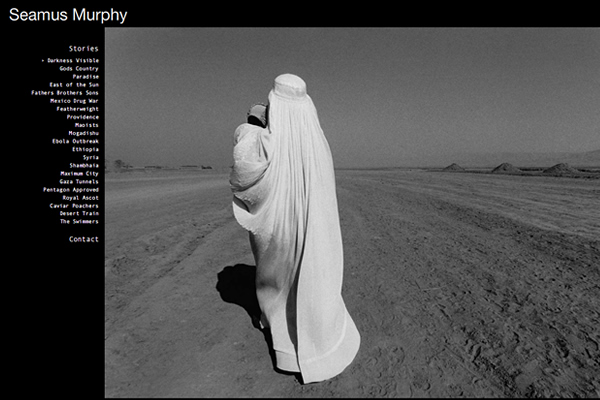 Seamus Murphy - Documentary Photography Websites