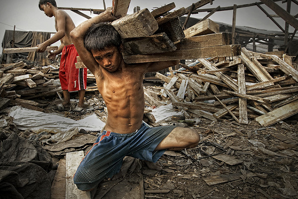 Ulingan, Tondo - The CROSS that I carried is a heavy one!