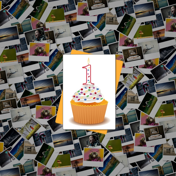 One Year of 121 Clicks - Express Your Love