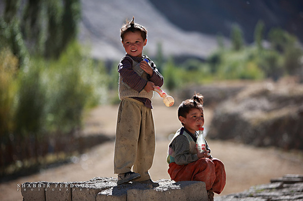 Lamyuru Kids - Ladakh, India