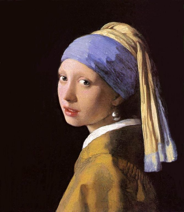The Girl with the Pearl Earring by Johannes Vermeer
