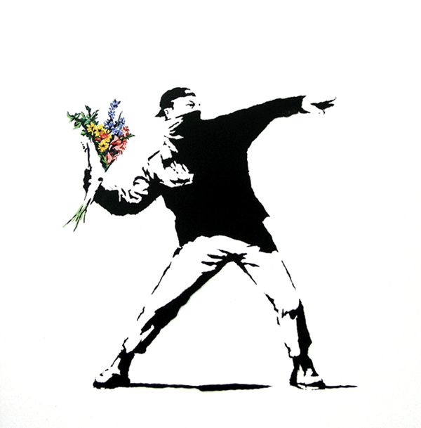 Paintings of Banksy