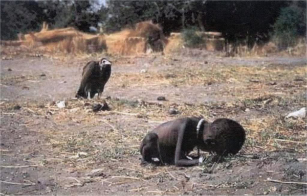 Child Crawling by Kevin Carter