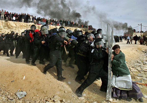 Defending the Barricade by Oded Balilty