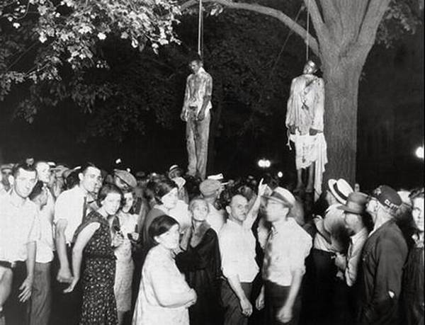 Lynching of young blacks by Lawrence H. Beitler