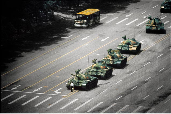 Tiananmen Square 1989 by Stuart Franklin